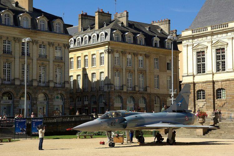 Rennes insolites-Prêt au décollage