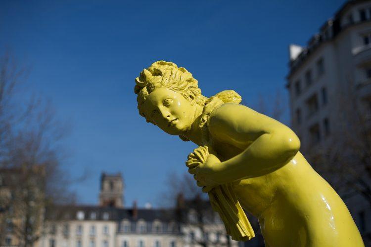 Rennes statues et monuments-Les baigneuses