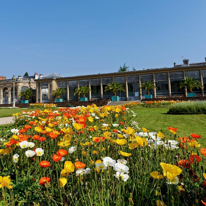 Rennes coté jardins-Parc du Thabor