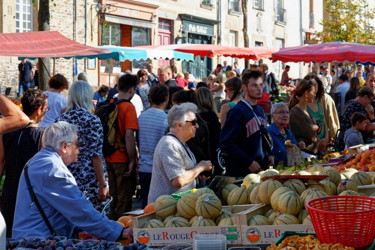 Rennes marché des Lices