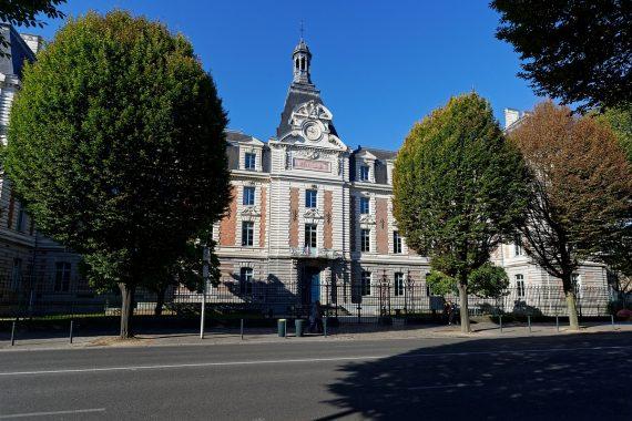 Rennes rues et architecture-Affaire Dreyfus-Lycée Emile Zola-Lycée Emile Zola