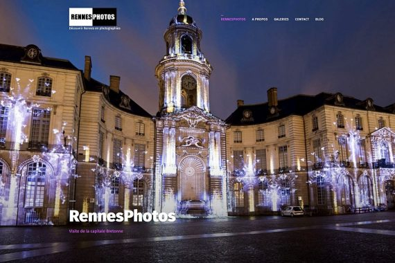 RennesPhotos page d'accueil